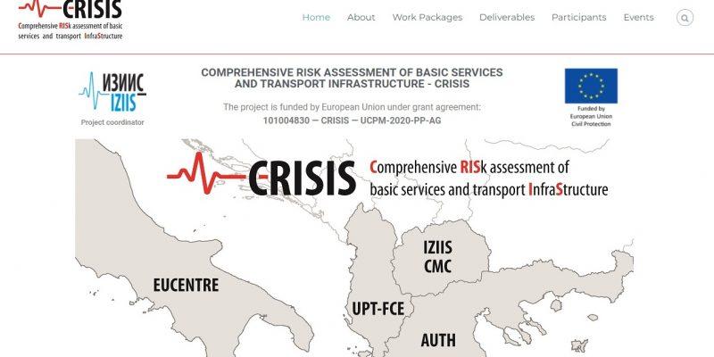 CRISIS' website is LIVE